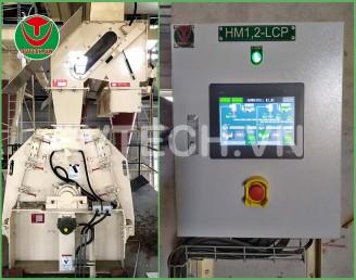 Tủ điều khiển tự động máy Nghiền Tinh dăm (Dry Hammer mill Control panel)