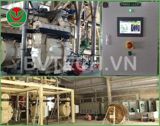 Tủ điều khiển tự động máy Ép Viên Gỗ Nén (Wood Pellet mill Control panel)
