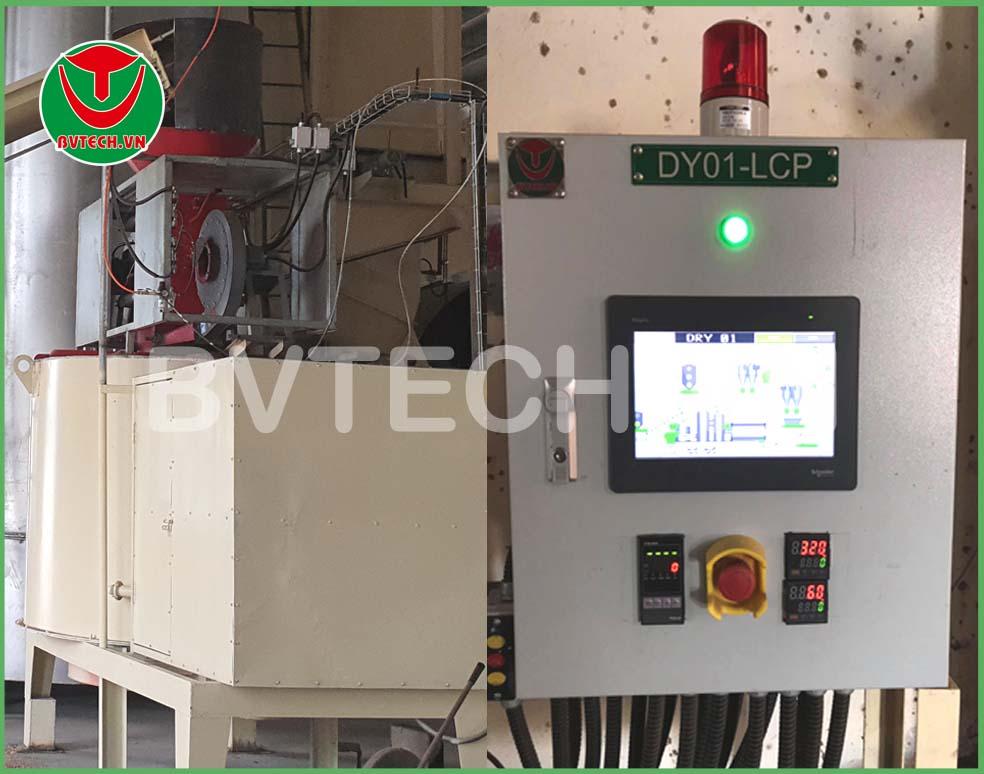 Tủ điều khiển tự động Đầu Đốt Biomass (Biomass Burnner Control panel)