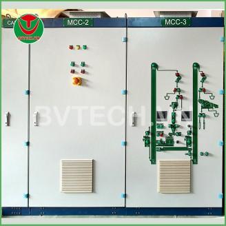 Dây chuyền sản xuất thức ăn Cá Tầm 2TPH cho Nhà máy Tầm Long Đami