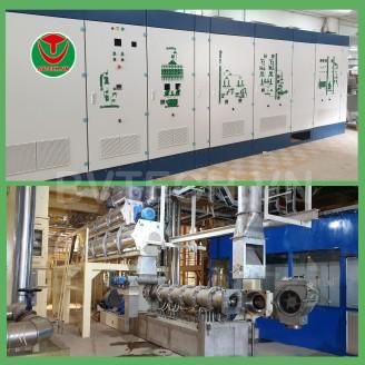 Dây chuyền sản xuất thức ăn thủy sản 20TPH Nhà máy Gò Đàng