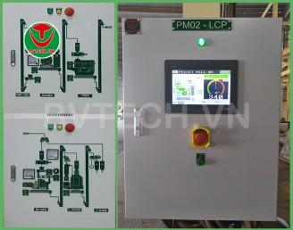 Tủ điều khiển tự động máy Ép Viên Thức ăn Chăn nuôi (Animal feed Pellet mill Control panel)