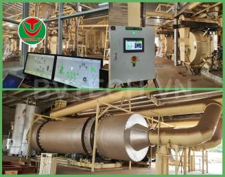 SCADA – Hệ thống điện Dây chuyền sản xuất viên gỗ nén