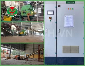 Tủ điều khiển tự động máy Băm Dăm (Wood Chipper Control panel)