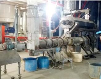 Dây chuyền sản xuất thức ăn thủy sản 2x9TPH nhà máy Biển Đông