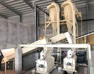 Tủ điều khiển tự động máy Nghiền Thô dăm (Wet Wood Hammer mill Control panel)